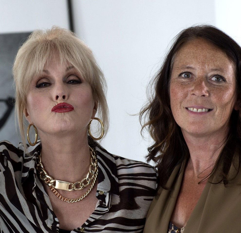 Met Joanna Lumley alias Patsy