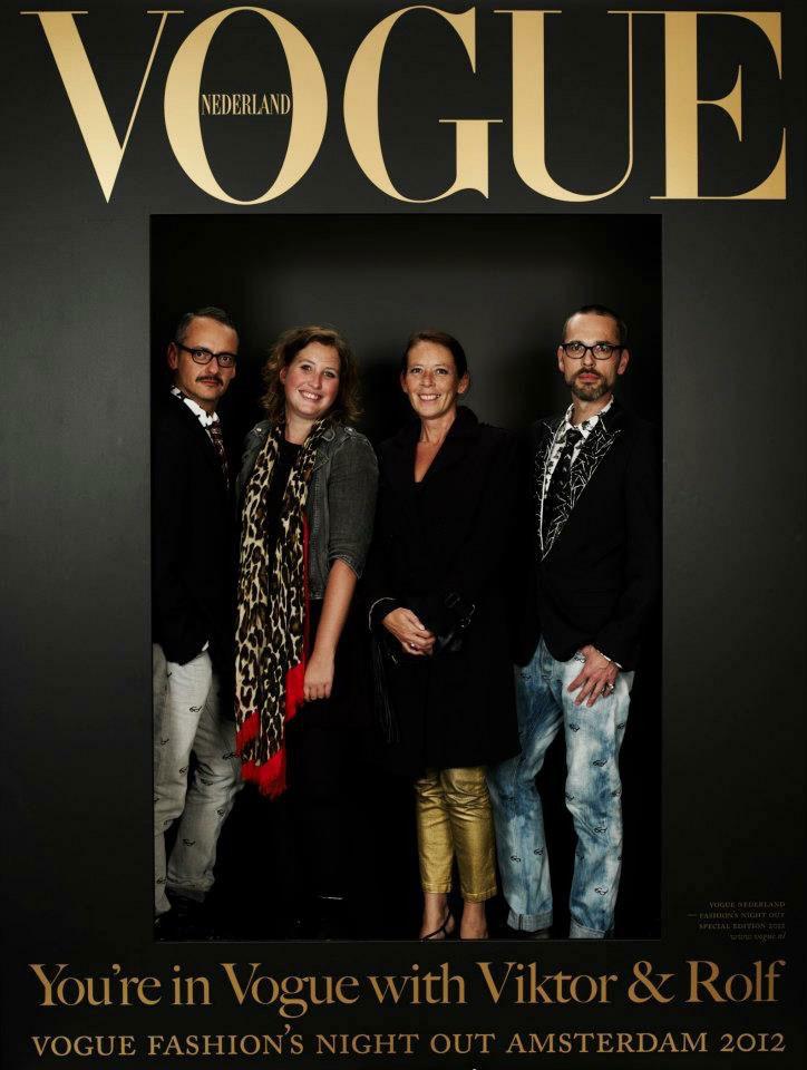 Vogue Fashion Night Out met Viktor&Rolf